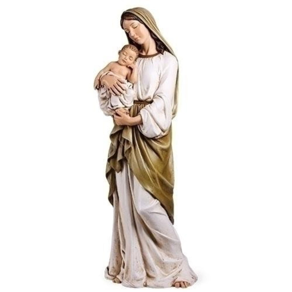 Madonna and child church size statue