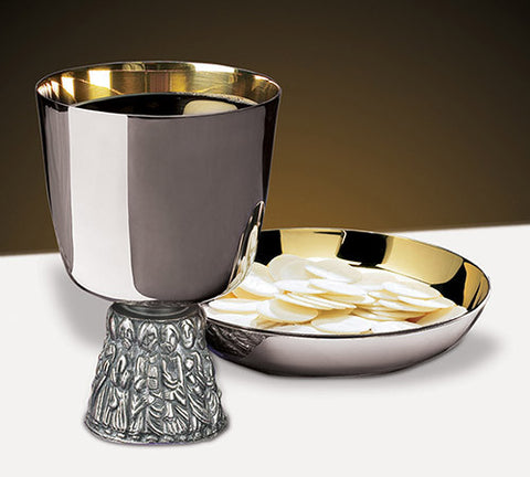 Last Supper Communion Chalice And Bowl Paten