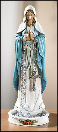 Praying Madonna Rosary Holder