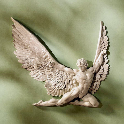 Icarus Angel Wall Plaque Greek Mythology