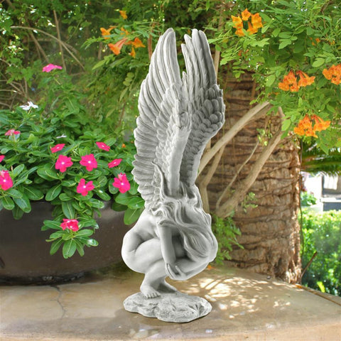 Remembrance Angel For Garden Or Memorial