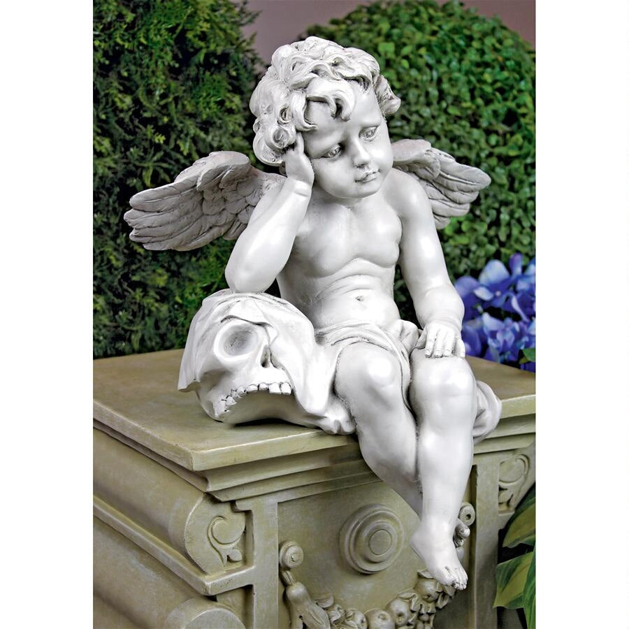 Mourning Mortality Angel Statue