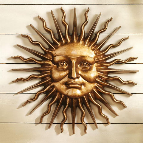 Sun Sloane Square Sun Greenman Wall Sculpture