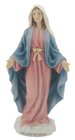 Our Lady of Grace Statue In Soft Color  Veronese Collection