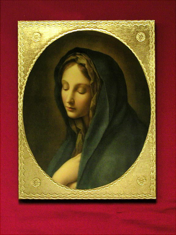 Our Lady Of Sorrows  Florentine Icon  By Carlos Dolci