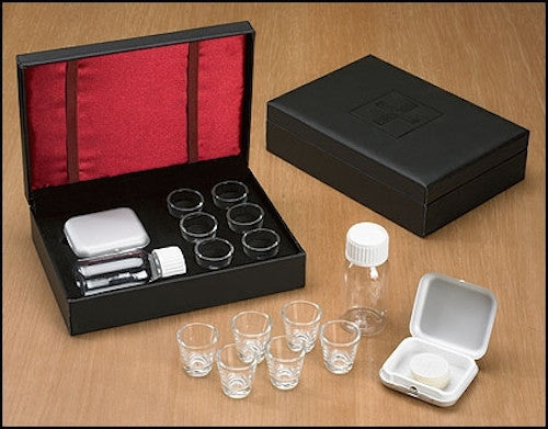 Portable Communion Set - 6 cup Travel Kit