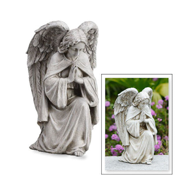 Angel Praying Memorial Garden Statue