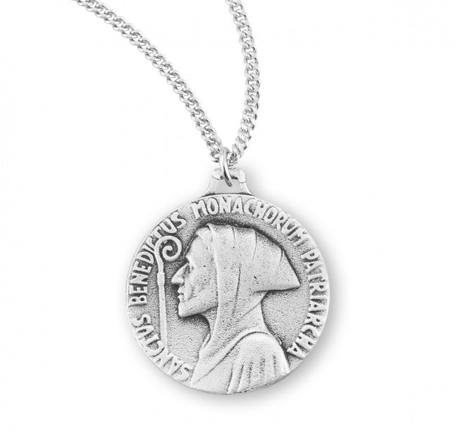 Saint Benedict double sided medal-pendant.