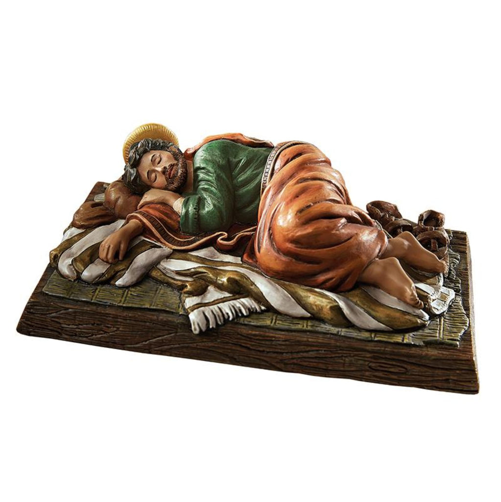SLEEPING SAINT JOSEPH STATUE