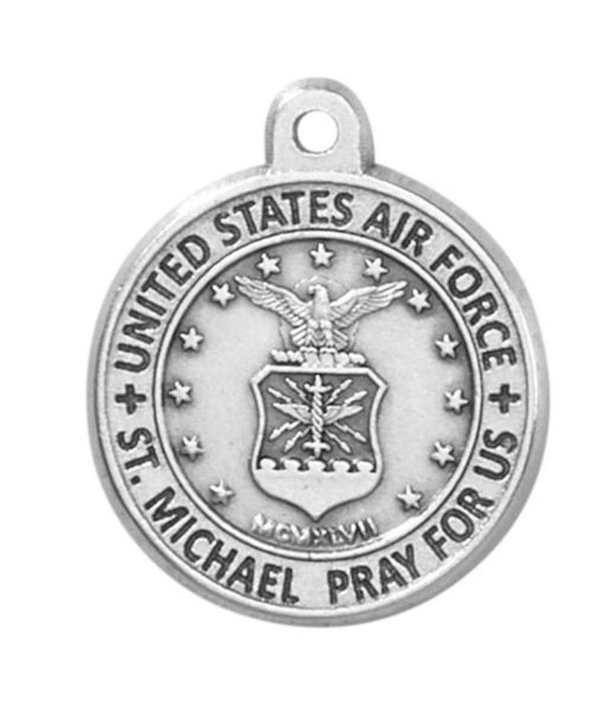 Air Force Medal on 20 Inch chain