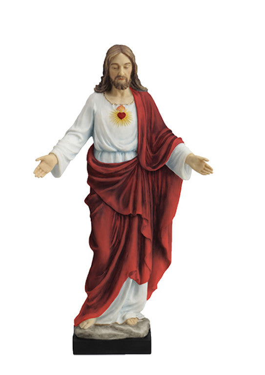 Sacred heart of Jesus statue veronese collection