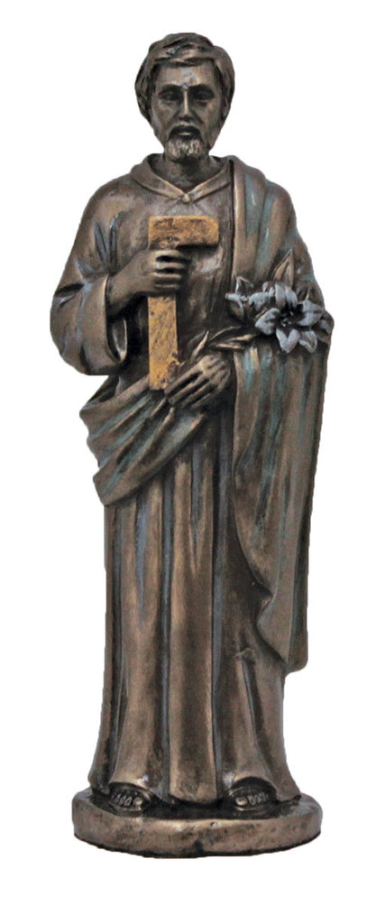 "Saint Joseph and Child Jesus Statue 5"" Tall"