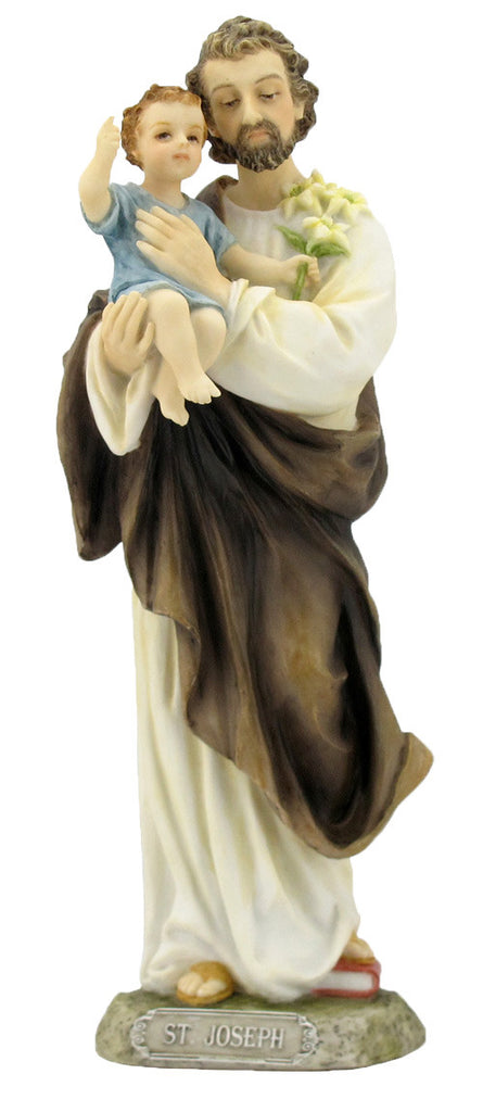 Saint Joseph And Child Jesus Statue  Veronese Collection