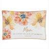 Mom Inspirational floral trinket tray