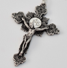 Divine Mercy Of Jesus Silver Plated Rosary By Ghirelli