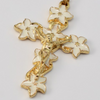 Holy Easter Risen Jesus Gold Plated Rosary By Ghirelli