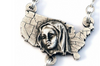The USA Rosary In Antique Silver By Ghirelli.