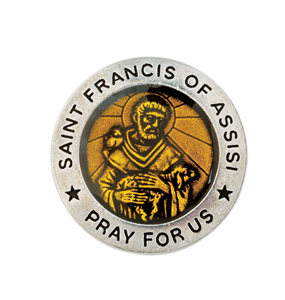 Saint Francis Pocket Token  St Of Animals Made In USA