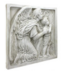 Guiding Angel Sculptural Wall Frieze Extra Large Size Plaque