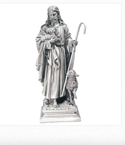 Jesus The Good Shepherd Garden Statue