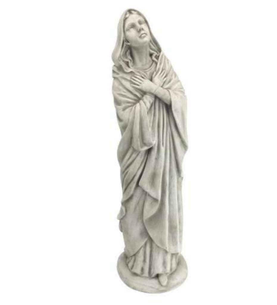 Blessed Mother of the Heavens Immaculate Conception Mary Garden or Grave Site Memorial Statue