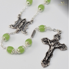 Silver Plated Annunciation Rosary