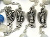 The Rosary of the Holy Angels with Genuine Mother of Pearl By Ghirelli of Italy