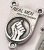 Real Men Pray The Rosary - A Rosary For Men By Ghirelli