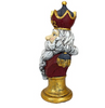 Santa Claus King of the North Pole Oversized Holiday Statue