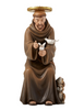 Saint francis with animals hummel figure