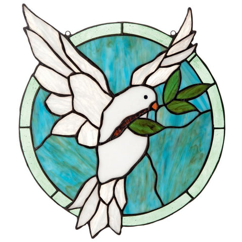 Dove Of Peace Stained Glass Art