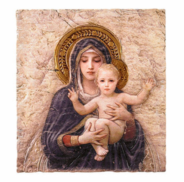 Bouguereau Madonna and Child icon