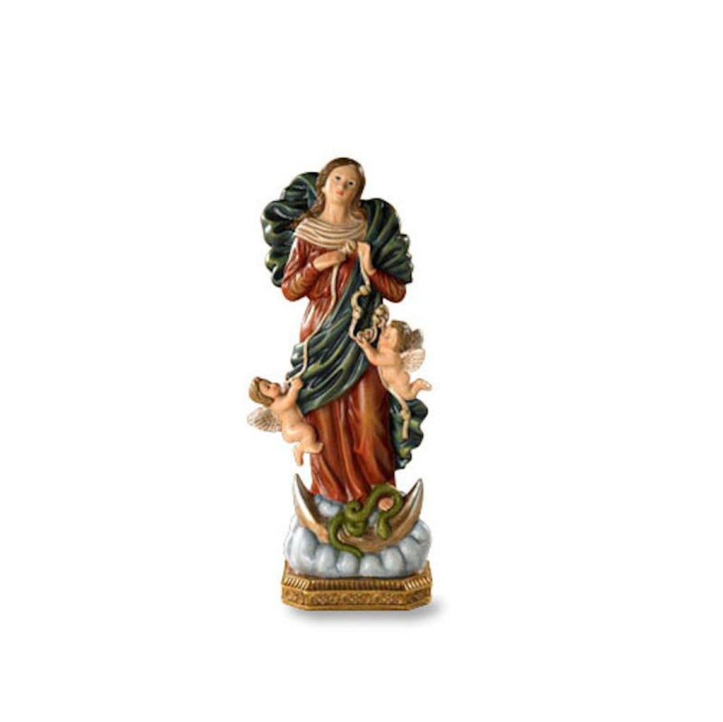 Mary Under Knots Statue   Madonna Helps Us Over Come Sin