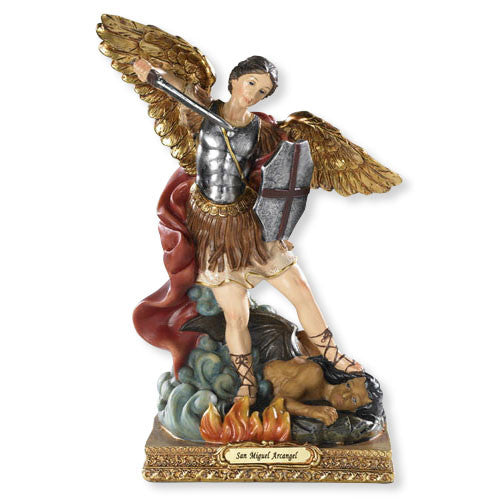 Saint Michael Archangel Of Protection Statue