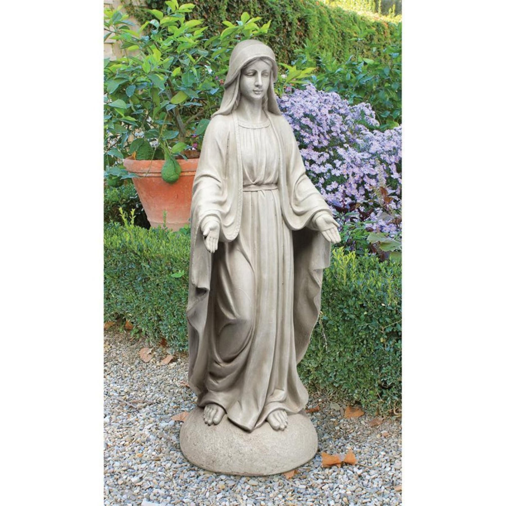 Madonna Our Lady of Notre Dame garden statue