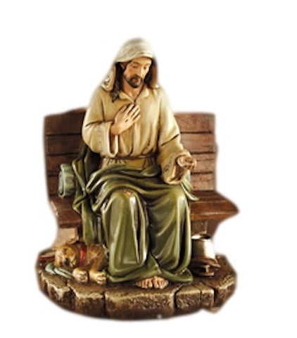 Jesus No Place To Rest Christian Statue