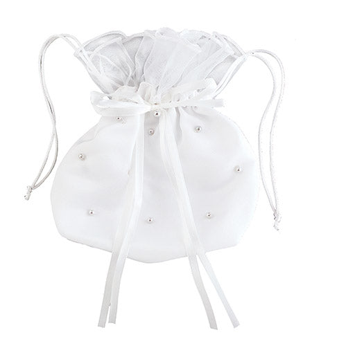 Pearl first communion purse for girls.