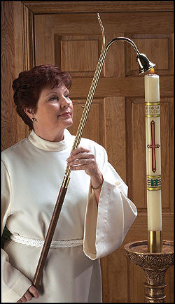 Candlelighter With Bell Snuffer Church Or Chapel