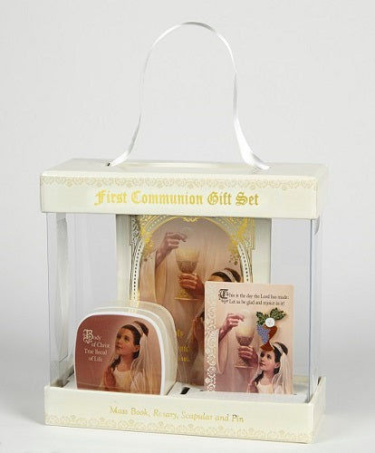 Sangre de Cristo First Communion Gift Sets - Gift Boxed Boys Or Girls