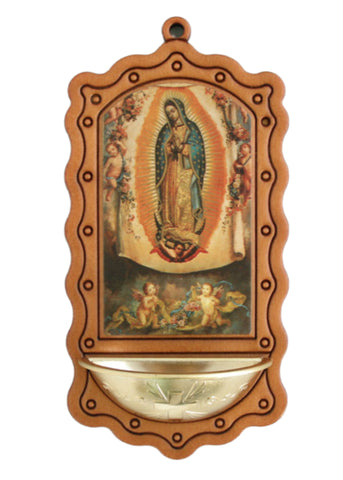 Our Lady of Guadalupe Water Font From Italy