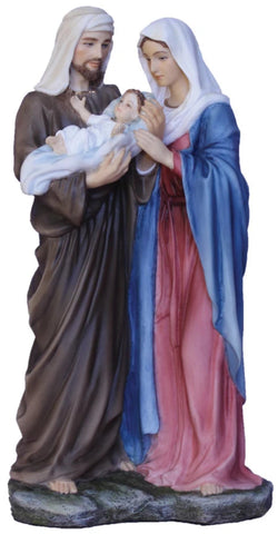 Holy Family Statue Hand Painted Veronese Collection