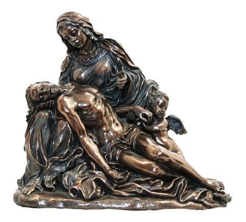 Pieta Figure by Agostino Carracci From Veronese Collection  Truly Exquisite Figure