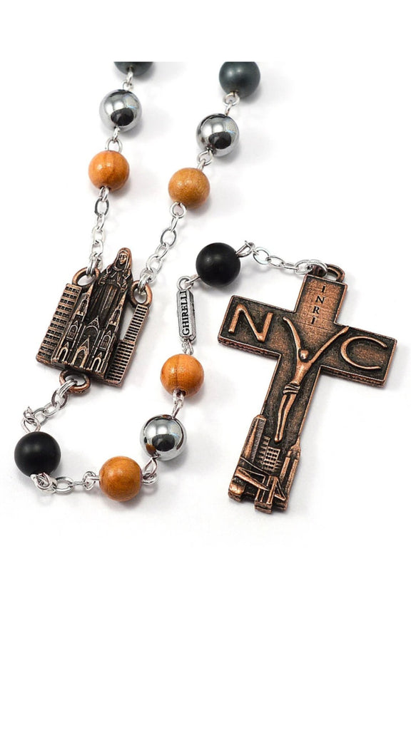 NYC 9/11 rosary by Ghirelli