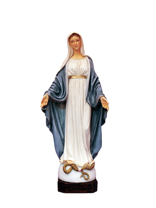 Our Lady of Grace Alabaster Statue From Italy