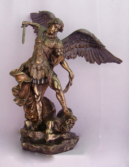 "Saint Michael Church Statue Large 29"" Tall"