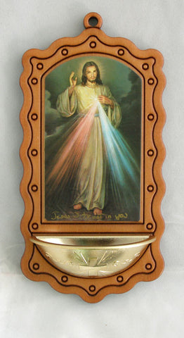 Divine Mercy Of Jesus Water Font From Italy