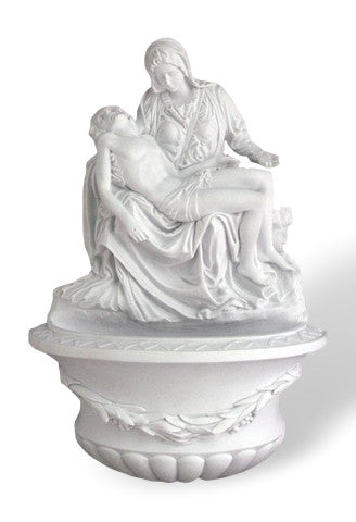 Pieta Holy Water Font For Church Or Home