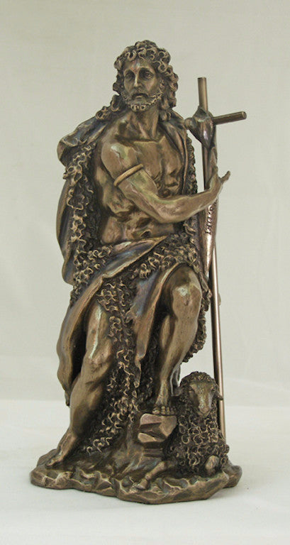 Saint John The Baptist Statue Veronese Collection