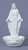 Madonna Our Lady of Grace With Roses Holy Water Font