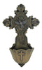 Holy Spirit Dove Jesus Cross Holy Water Font
